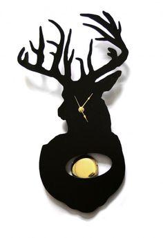 Stag Clock by westergaard designs