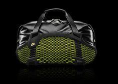 NIKE presents rebento duffel: a 3D printed performance leather sports bag - designboom | architecture