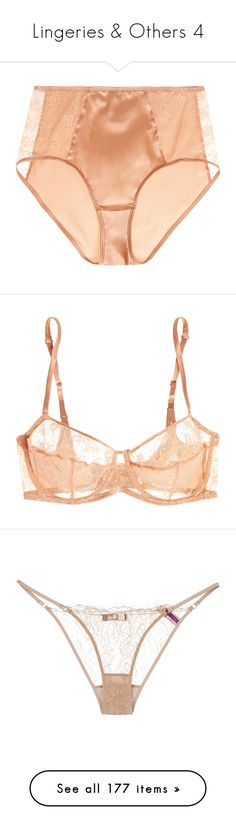 """""""Lingeries & Others 4"""" by s-junior ❤ liked on Polyvore featuring intimates, panties, lingerie, eres, high waisted lingerie, high-waisted lingerie, retro lingerie, bras, bra and underwear"""