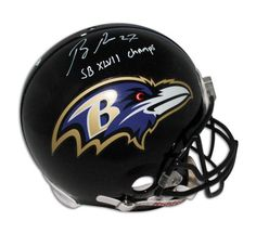 2ca5a43c6 Ray Rice Baltimore Ravens Autographed Proline Helmet Inscribed