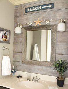 Awesome coastal style nautical bathroom designs ideas (25)
