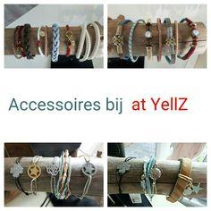 ☆ NIEUW ☆ NIEUW ☆ NIEUW ☆   De nieuwe voorjaars collectie armbanden bij at YellZ