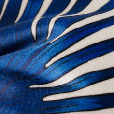 Coussin Blue Palms - WOUF