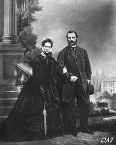 Tsar Alexander ll and Tsarina