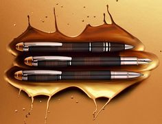 Montblanc Starwalker Red Gold-Plated Pen Collection