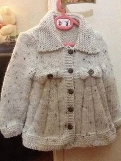 Stricken : PDF Knitting Pattern for a Ladies Cabled Aran Jacket or Cardigan, Knit Cardigan Pattern, Jacket Pattern, Aran Knitting Patterns, Knit Patterns, Knitting For Kids, Hand Knitting, Cable Knit Sweaters, Baby Sweaters, Crochet Capas