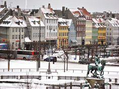 Nyhavn from Hotel D'Angelttere, Denmark