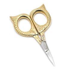 Sweet owl needlework scissors