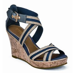 Cute and Comfy Sandals:' Sperry Top-Sider 'Harbordale' wedge sandals
