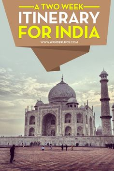 Here are a few options for two weeks in India!