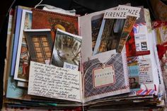 The art of keeping a travel journal - Journal - Inspirationen - I'm no travel journal expert, but I absolutely adore a good travel journey or a place to keep my memories. I'm a keepsake, memory hoarder and I'm not sorry. I still have many litt… Smash Book, Filofax, Travel Scrapbook, Scrapbook Pages, Art Journal Pages, Art Journals, Memory Journal, Journal 3, Art Journal Inspiration