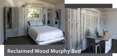 Reclaimed Wood Murphy Bed