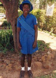 Girl Guides Association Of Zimbabwe Sunbeams Girl