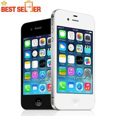 100% Original Unlocked Apple iPhone 4S IOS 1080P Dual Core 8MP WIFI WCDMA Mobile phone time-limited Promotion!  Price: 80.27 USD