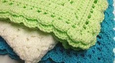 crochet pattern for a one skein baby blanket