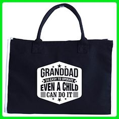 Granddad So Easy To Operate Even A Child Can Do It - Tote Bag - Totes (*Amazon Partner-Link)
