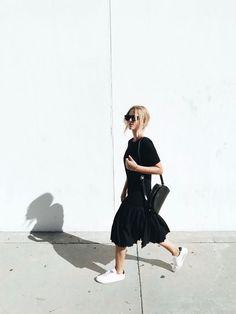 Fashion | All black | Blogger | Street style | Spring | More on Fashionchick.nl