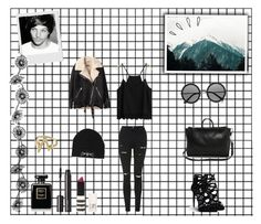 """""""# MY FIRST TEMPLATE ~ Hanging out with Louis Tomlinson ♥"""" by sarkata-boo-bear ❤ liked on Polyvore featuring Topshop, Giuseppe Zanotti, Acne Studios, 3.1 Phillip Lim, Chanel, Witchery, The Row, With Love From CA, Raven Denim and Old Navy"""