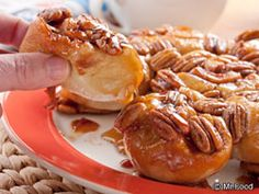 We know what you're eating this Sunday morning! Pair your favorite cup of coffee with some of these Texas Sticky Buns.