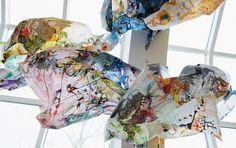 8. Anna Joelsdottir, detail site specific installation, 2014. Photo,the…