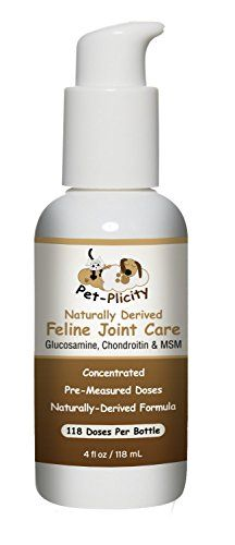 Concentrated Liquid Natural Glucosamine Chondroitin for Cats  Pet Bone  Joint Supplement for Your Cat  Relieves Arthritic Joint Pain Strengthens Bones and Prevents Further Damage to Cartilage *** See this great product.