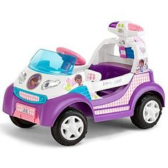 I wish Lily was old enough to ride this soon..next Christmas definately...Disney Doc McStuffins Ambulance