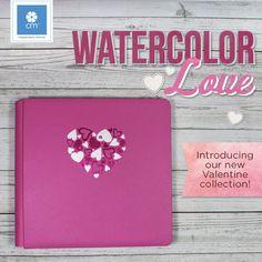 New Watercolor Love Coverset!!  #cmproducts #creativememories #album