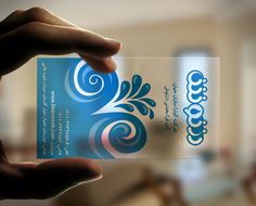 Transparent plastic business card pinterest business cards deznoosh transparent business card fbccfo Gallery