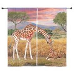 Tall Love From Above Curtains on CafePress.com