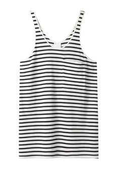 #Striped Pocket Tank Top.  blouse #2dayslook #fashionstyle  www.2dayslook.com
