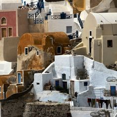elorablue: Pueblo architecture in Greece… by Frizztext on...