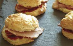 Ham Biscuit Sliders With Hot Pepper Jam