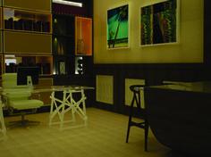 Casa Cor 2012 - Escritório do Chico Anysio - Projeto