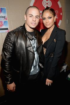 Pin for Later: All the Must-See Action From the iHeartRadio Music Festival Jennifer Lopez and Casper Smart