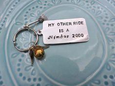 My Other Ride is a Nimbus 2000 or Firebolt by TheBlackbirdBijou