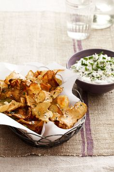 This seasonal take on chips and dip is full of deep, rich flavors and perfect for a Super Bowl bash. Get the recipe.