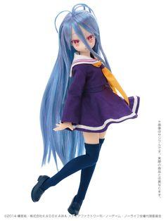 No Game No Life: Azone Shiro PureNeemo Doll