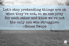 we all struggle!
