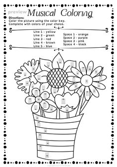 Lines and Spaces Spring Worksheet Pack * Anastasiya Multimedia Studio Music Lesson Plans, Music Lessons, Music Classroom, Music Teachers, Classroom Ideas, Music Ministry, Space Music, Music Activities, Movement Activities