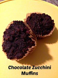 Chocolate Zucchini Muffins   Modern Alternative Kitchen.. make a few substitutions to be GAPS friendly