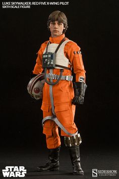 Star Wars: Luke Skywalker als Red Five X-Wing Pilot, Deluxe-Figur (voll beweglich), Sideshow Star Wars Luke Skywalker, Hades, Star Wars Episode Iv, Star Wars Models, Star Wars Merchandise, Star Wars Action Figures, The Empire Strikes Back, Star Wars Collection, Sideshow Collectibles
