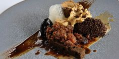 This complex dish from Tom Aikens showcases coffee in a variety of forms and textures, making an inspirational dessert