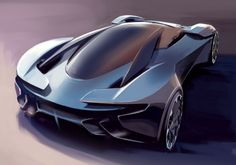 the DP-100 vision gran turismo concept by the aston martin design team for the gran turismo 6