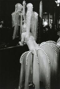 Waterfall-like costume