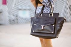 Nanys Klozet with Ted Baker's BAILLIE bag