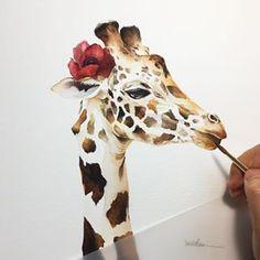🎨 Watercolorist: @viichae    #waterblog #акварель #aquarelle #drawing #art #artist #artwork #painting #illustration #watercolor #aquarela