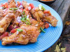 Spicy Suya wings