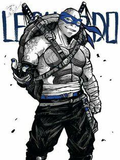 Teenage Mutant Ninja Turtles, Tortugas Ninja Leonardo, Turtle Sketch, Tmnt Swag, Tmnt Leo, Leonardo Tmnt, Ninja Turtles Art, Tmnt 2012, Nerd Art