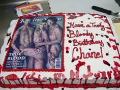 True Blood Cake By kaleidoscopecakes on CakeCentral.com