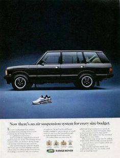 Now there's an air suspension system for every size budget 001 Range Rover Classic, Print Advertising, Cars And Motorcycles, Automobile, Restoration, Gallery, Vehicles, Pictures, Instagram